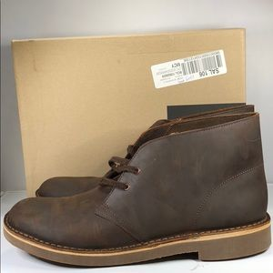 [179] Clarks Chukka Boots Lace-up, Size 10